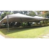 locação de tendas para eventos ao ar livre