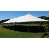 locação de tenda modelo circo 16x38 mts
