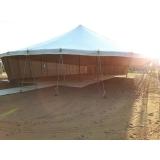 locação tenda modelo circo