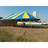 tenda modelo circo para locação