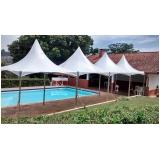 locação de tendas para eventos ao ar livre preço Mairinque