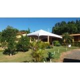 locação de tendas para eventos ao ar livre Itu