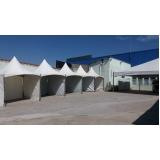 locação de tendas para eventos empresariais preço Capela do Alto