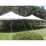locação de tendas para eventos preço Mairinque