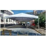 locação de tendas para eventos Alumínio