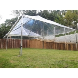 orçamento tenda cristal piramidal Mairinque