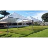 preço aluguel de tenda cristal Ibiúna