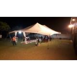 preço aluguel de tenda para casamento Cotia