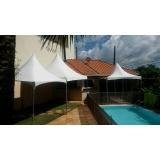 preço aluguel de tenda para praia Mairinque