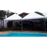 preço aluguel de tenda piramidal 6x6 Capela do Alto
