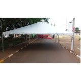 preço aluguel de tendas e lonas Cotia