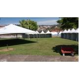 preço aluguel de tendas para eventos São Roque