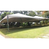 preço da locação de tenda Mairinque