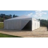 preço da locação de tendas e coberturas Alumínio