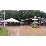 preço da locação de tendas para eventos empresariais Votorantim