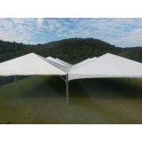 preço de locação de tenda 10x10 para eventos Alumínio