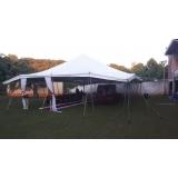preço de locação de tenda modelo circo 12x25 mts Piedade