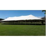 preço de locação de tenda modelo circo 16x38 mts Ibiúna