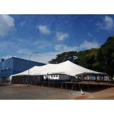 preço de locação de tenda modelo circo14x30 mts São Roque