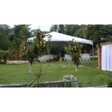 preço de locação de tenda para festa de casamento Salto de Pirapora