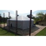 preço de locação de tendas e coberturas Capela do Alto