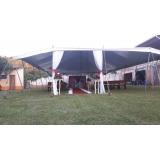 quanto custa locação de tenda modelo circo 12x25 mts Salto de Pirapora