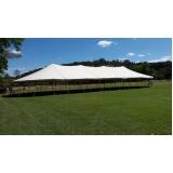 quanto custa locação de tenda modelo circo 16x38 mts Votorantim