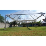 tenda cristal 10x10 valor Capela do Alto