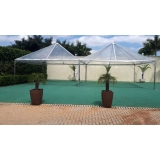 tenda cristal 10x10 Capela do Alto