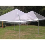 tenda cristal piramidal preço Alumínio
