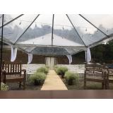 tenda cristal Araçoiaba da Serra