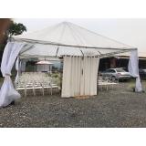 tenda de cristal casamento valores Sorocaba
