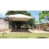 tenda pirâmides 4x4 preço Capela do Alto