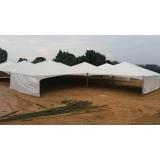 tenda pirâmides profissional preço Capela do Alto