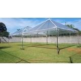 tenda pirâmides transparente Piedade