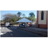 tendas piramides 8x8 mts preço Salto de Pirapora