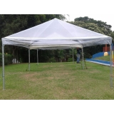 tenda pirâmides transparente
