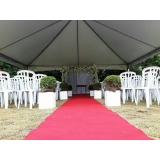 valor aluguel de tenda para casamento Mairinque
